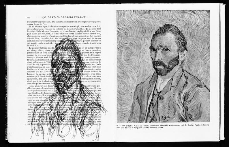 Alberto Giacometti, Portrait Van Gogh