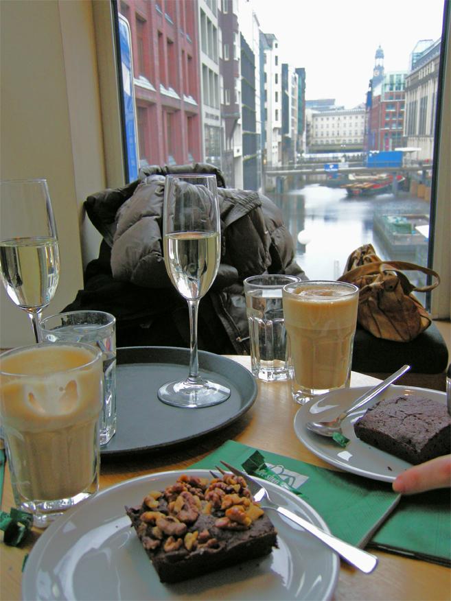 Kaffee in Hamburg