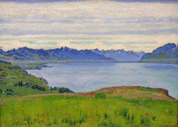 Hodler_ Landschaft am Genfer See