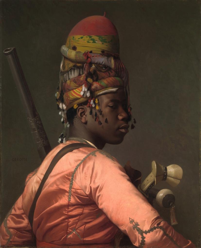 Jean-Léon Gérôme_black Bashi-Bazouk, 1869
