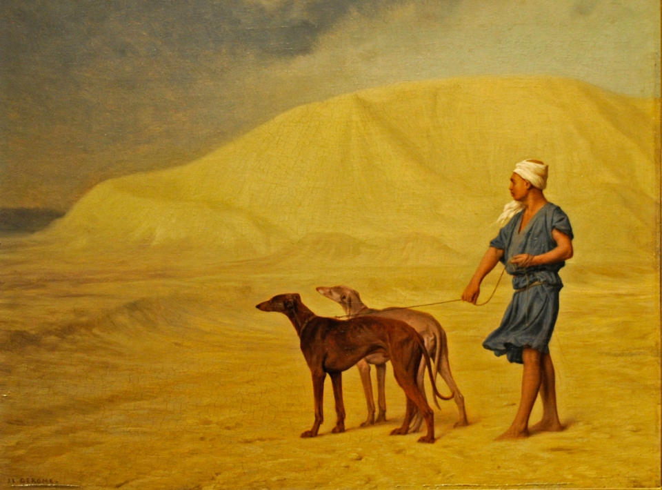 Jean-Léon Gérôme_on the desert , 1867