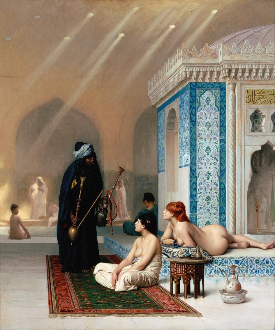 Jean-Léon Gérôme_pool in a harem, 1876