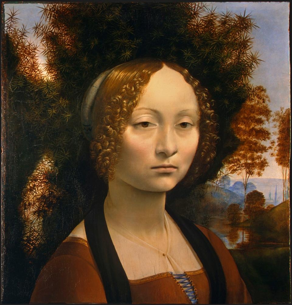 Leonardo da Vinci_Portrait der Ginevra de'Benci_ⓒ Wikimedia_ National Gallery of Art_ Washington