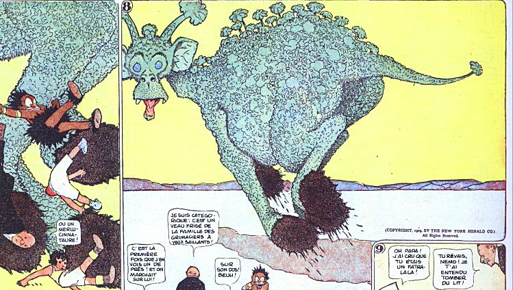 Little Nemo in Slumberland 1905 - 1914 _ ⓒ Winsor McCay _ Wikipedia