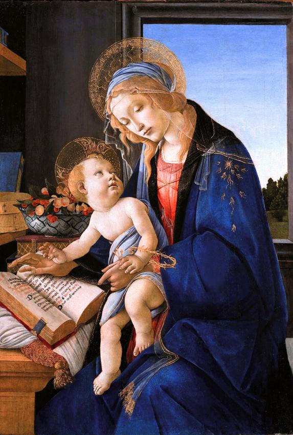 Sandro Botticelli_ Madonna col Bambino_ⓒ Wikimedia_ Museo Poldi Pezzoli_Mailand