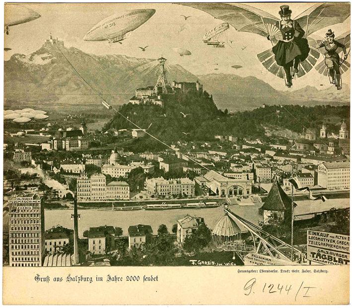 Salzburg im Jahr 2000 _ ⓒ Fritz Gares, 1900 _ Wikimedia