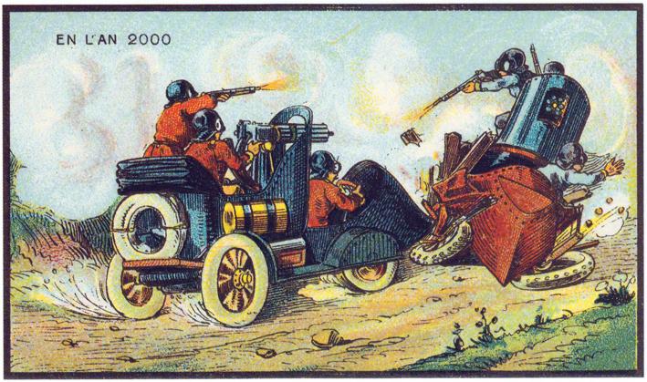 Frankreich im Jahr 2000 _ ⓒ Jean Marc Cote, 1899_ Wikimedia