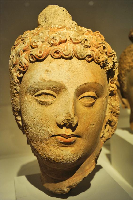 Gandhara Buddha, Pakistan oder Afghanistan, Chicago_ ⓒ Wonderlane_ Wikimedia