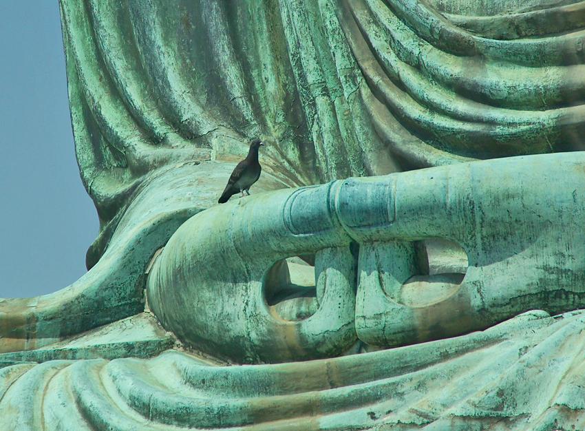 Buddha von Kamakura Japan_ Mudra der Meditation_ ⓒWikimedia