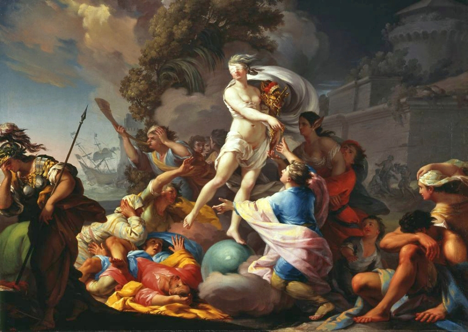 Fortuna _ ⓒ Tadeus Kuntze 1727 - 1793_ Wikimedia
