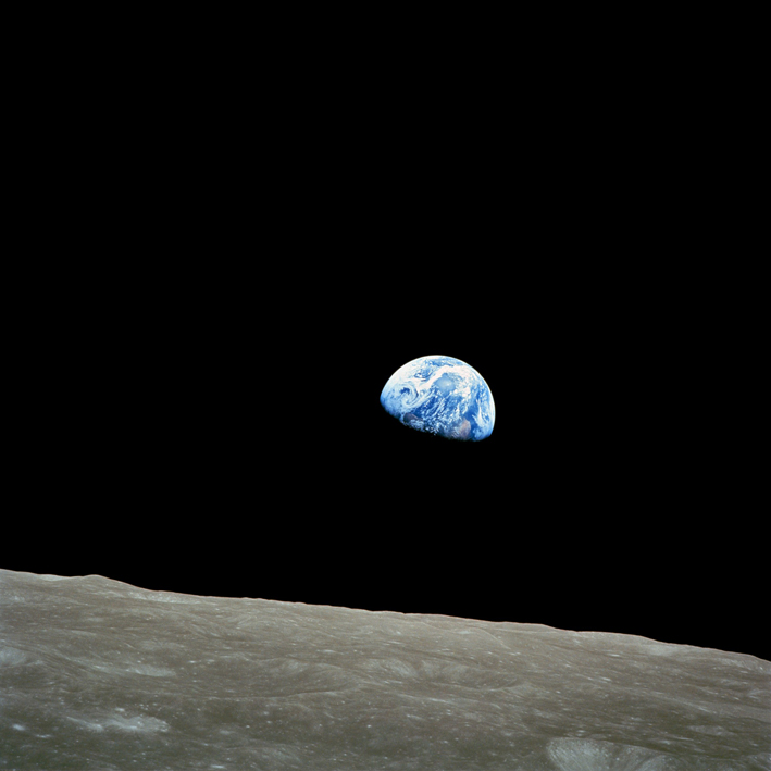 NASA_ Apollo8_ Dec24_ Earthrise_ Bill Anders_ ⓒ NASA_ Quelle Wikimedia