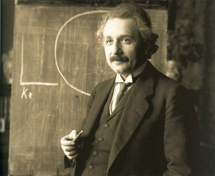 Albert Einstein, 1921_ ⓒ Ferdinand Schmutzer, 1870 - 1928