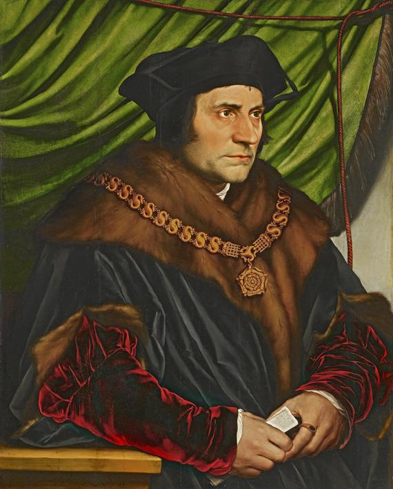 Sir Thomas More von Hans Holbein dem Jüngeren, 1527, ⓒ_ Wikimedia