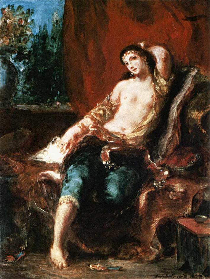Eugène_Delacroix_-_Odalisque_-_WGA6225