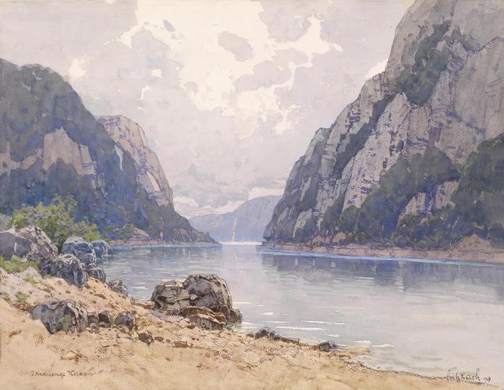Fritz_Lach_Donauenge_Kasan